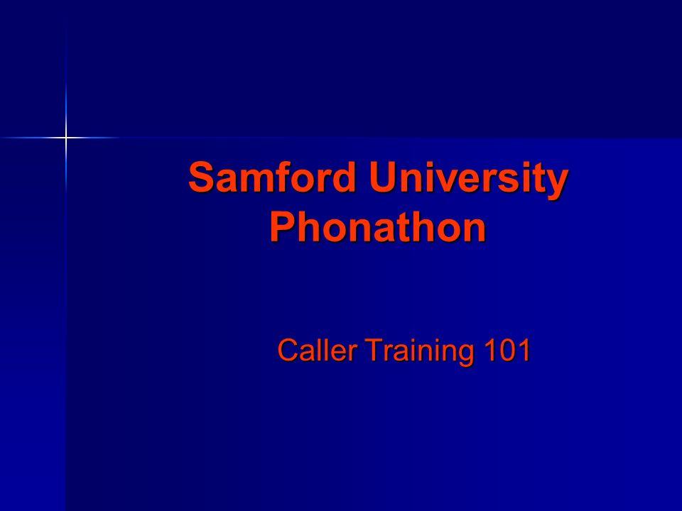 Samford University Phonathon