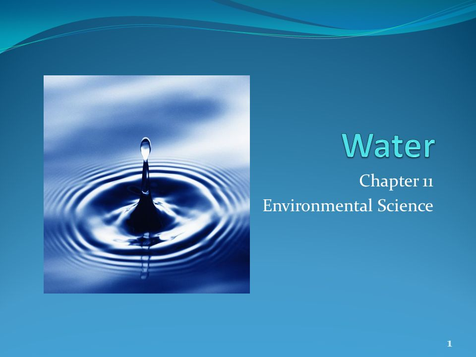 Chapter 11 Environmental Science