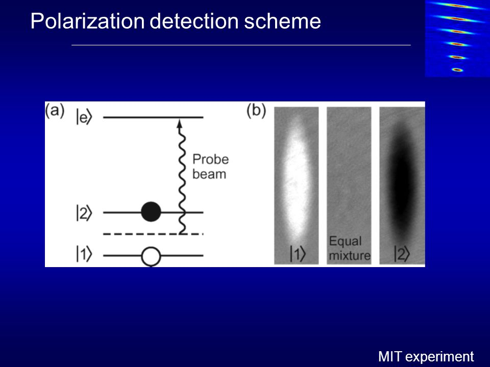 Polarization detection scheme