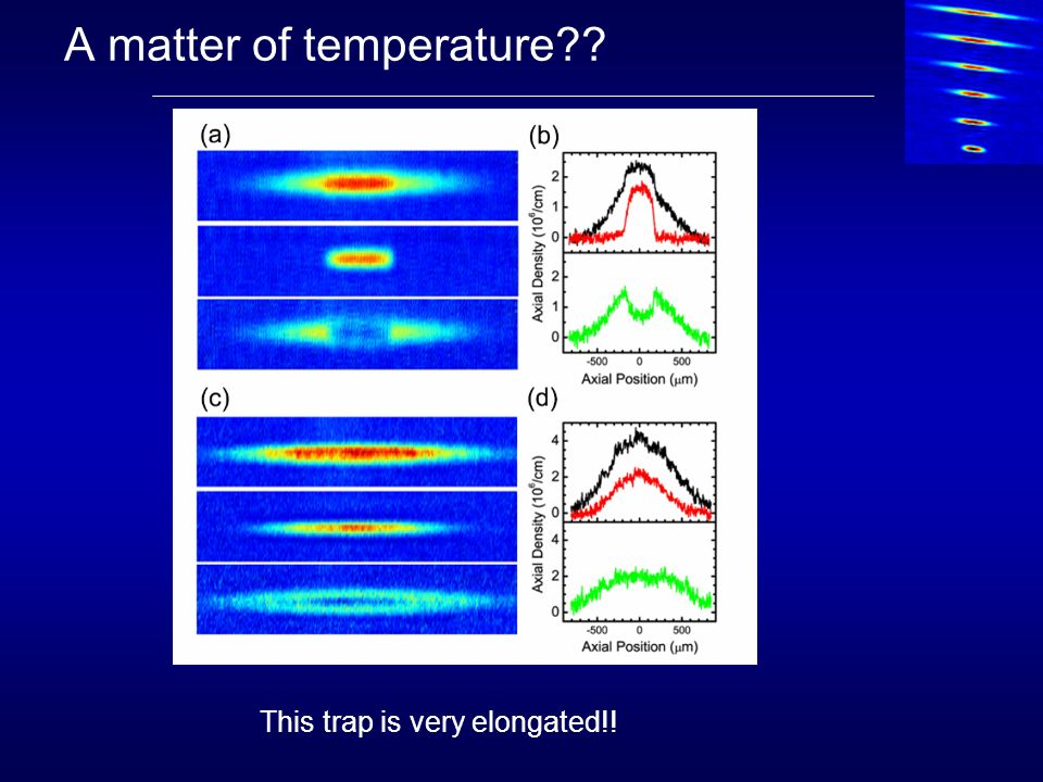 A matter of temperature