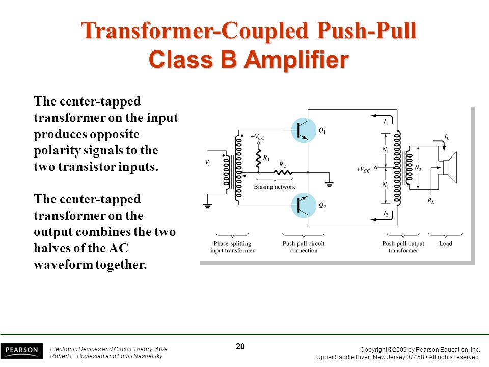 Transformer-Coupled Push-Pull