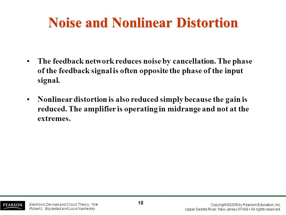 Noise and Nonlinear Distortion