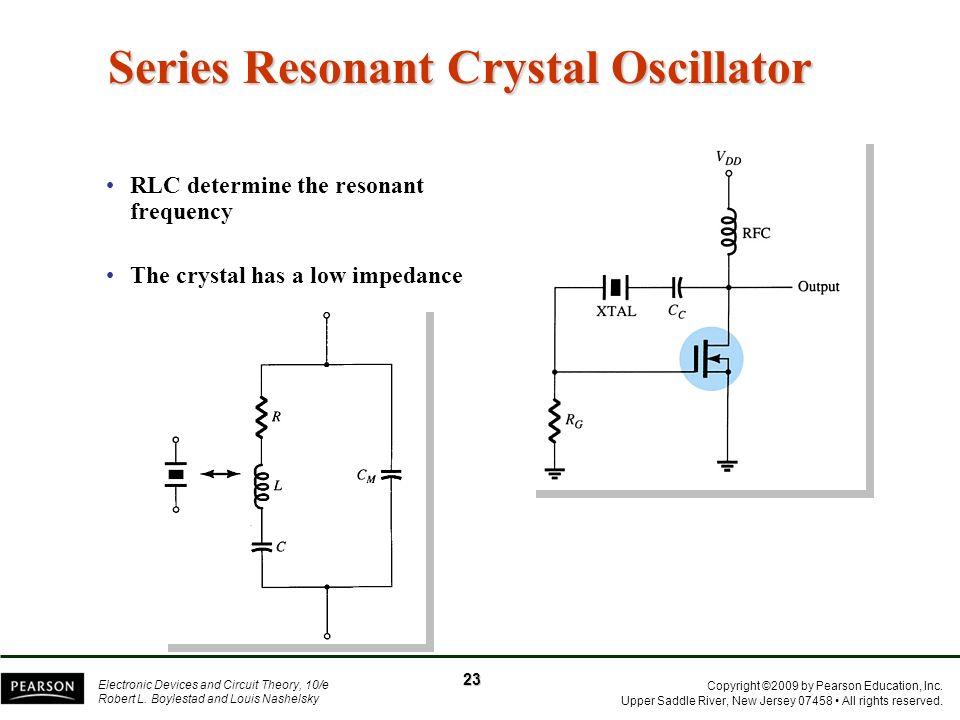 Series Resonant Crystal Oscillator