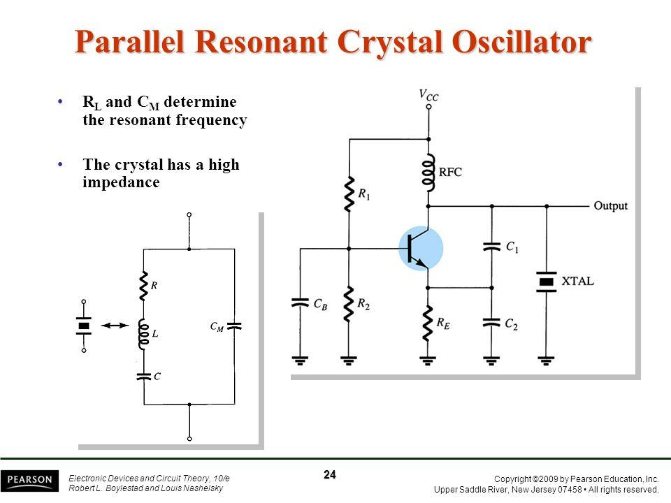 Parallel Resonant Crystal Oscillator