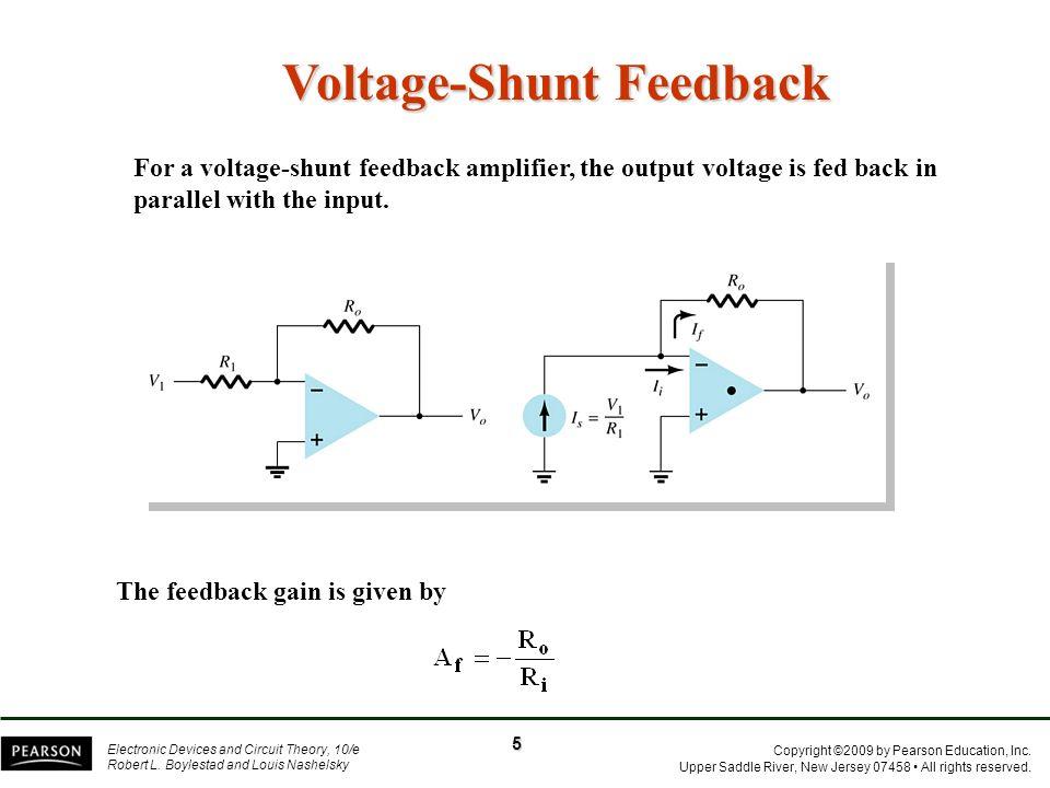 Voltage-Shunt Feedback