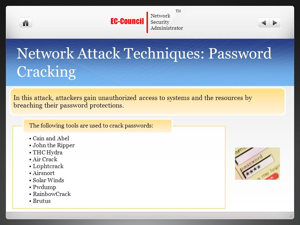 strategies for password cracking Passwords are an important aspect of computer security  422 password  cracking or guessing may be performed on a periodic or random basis by the.