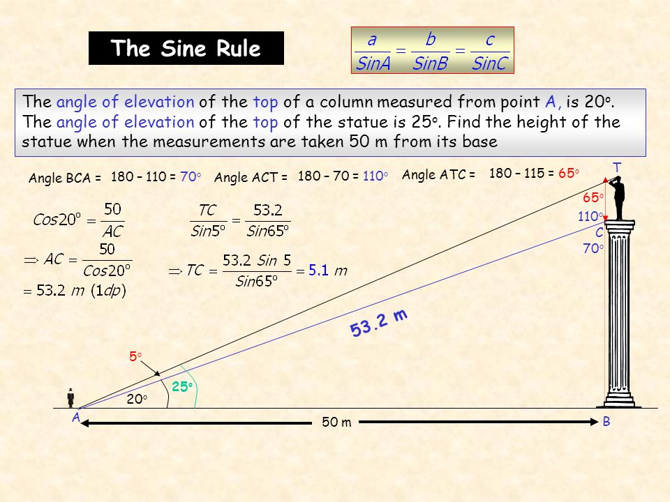 The Sine Rule A.