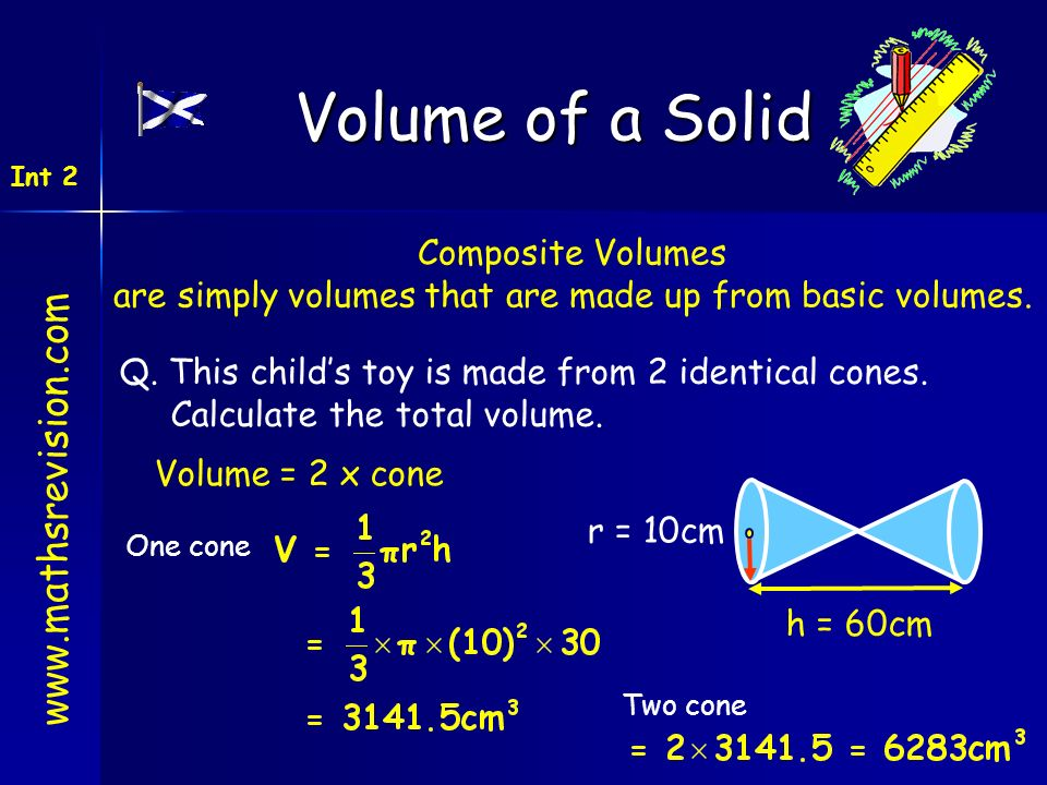 are simply volumes that are made up from basic volumes.