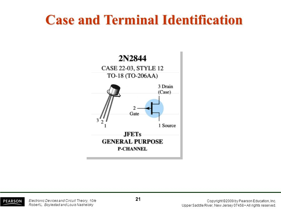 Case and Terminal Identification