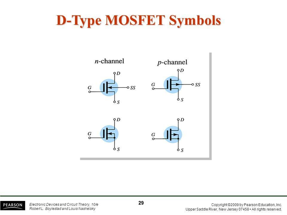 D-Type MOSFET Symbols 29
