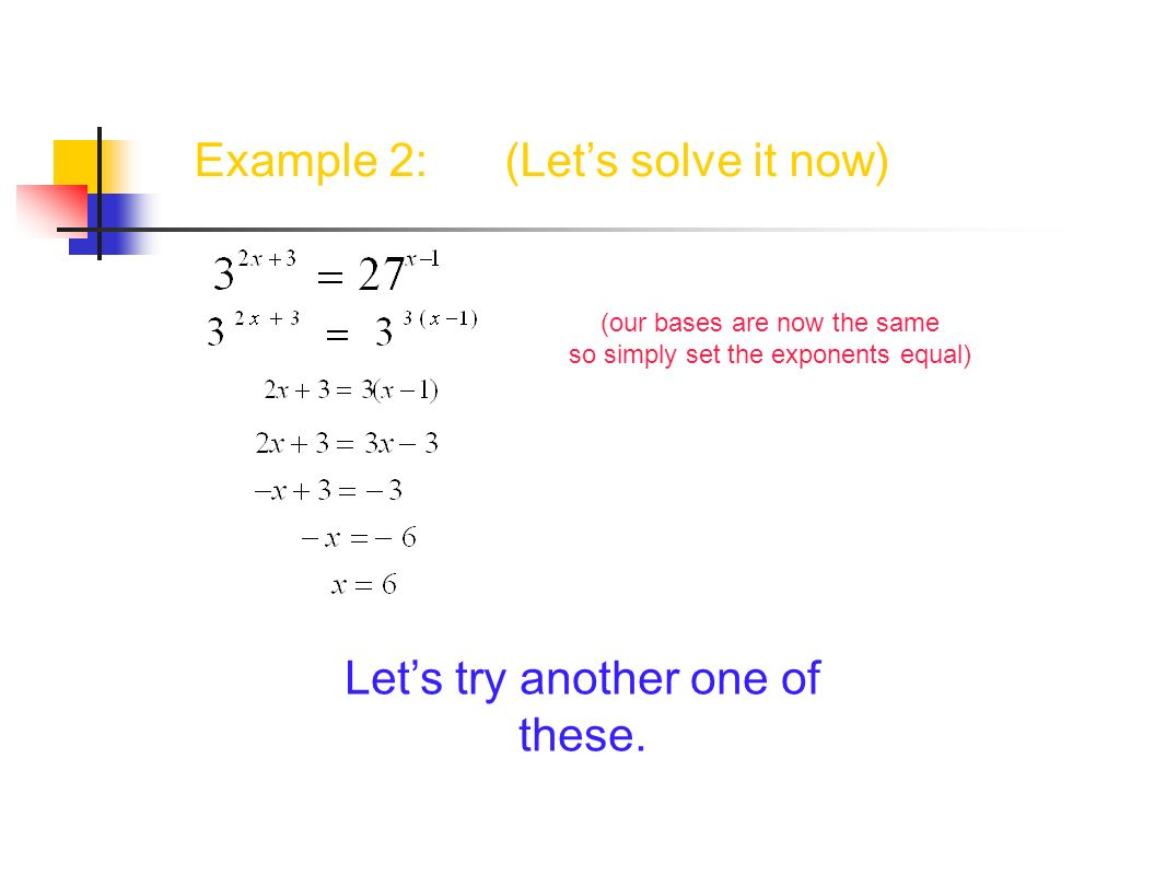 Example 2: (Let's solve it now)