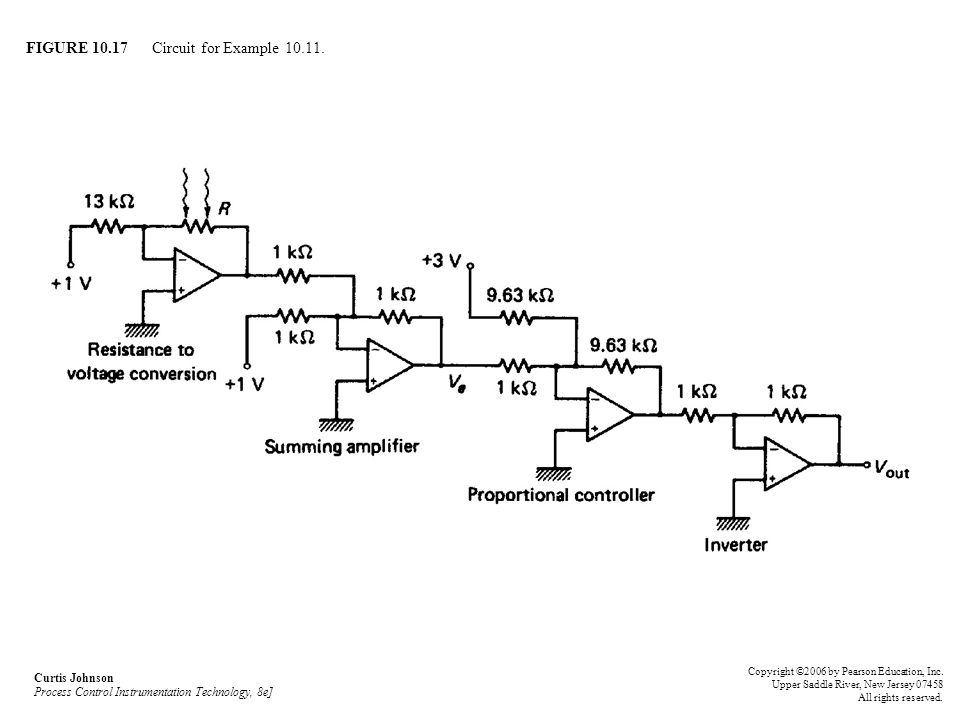 FIGURE 10.17 Circuit for Example 10.11.