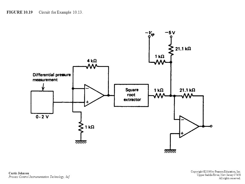 FIGURE 10.19 Circuit for Example 10.13.