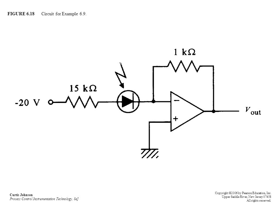 FIGURE 6.18 Circuit for Example 6.9.