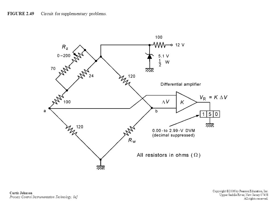 FIGURE 2.49 Circuit for supplementary problems.