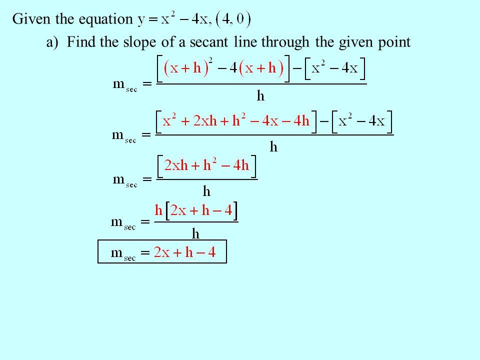 tangent line definition equation study com