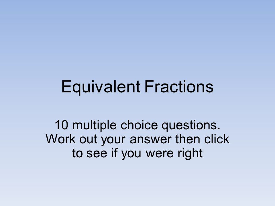 Fraction Revision. - ppt video online download