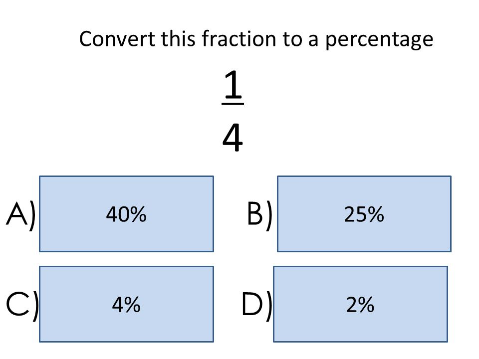 Convert this fraction to a percentage