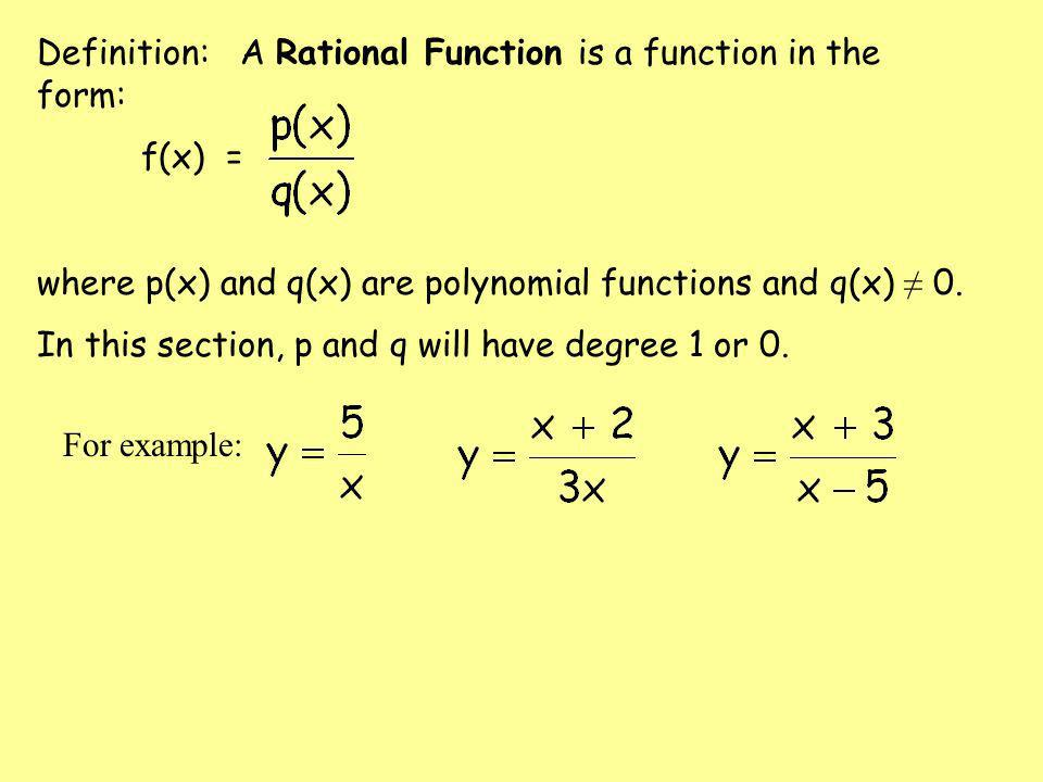 rational functions ppt download