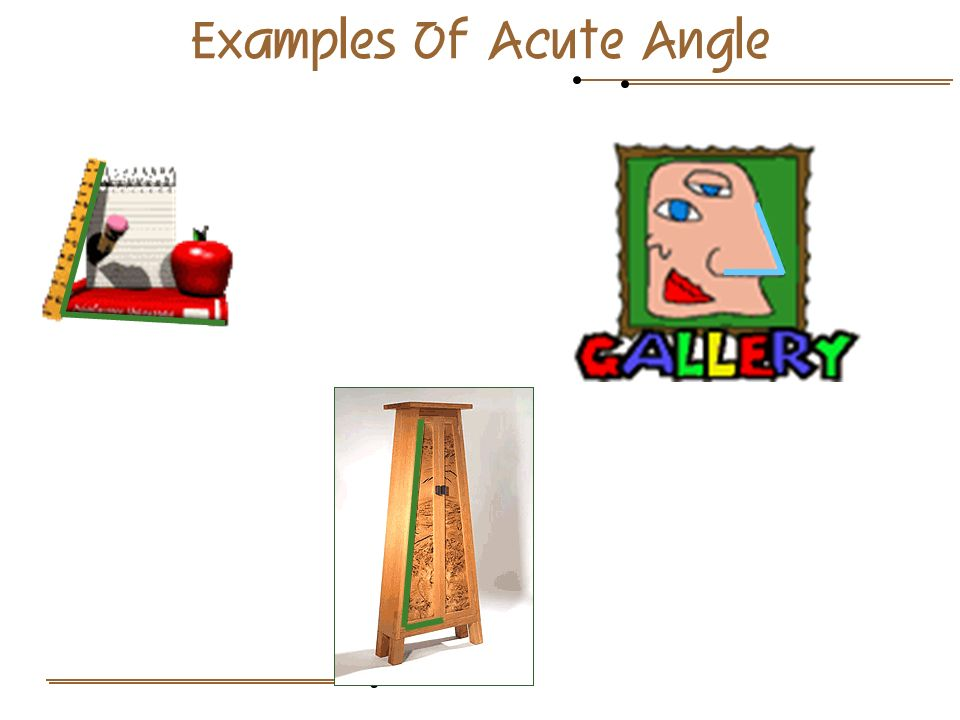 Examples Of Acute Angle