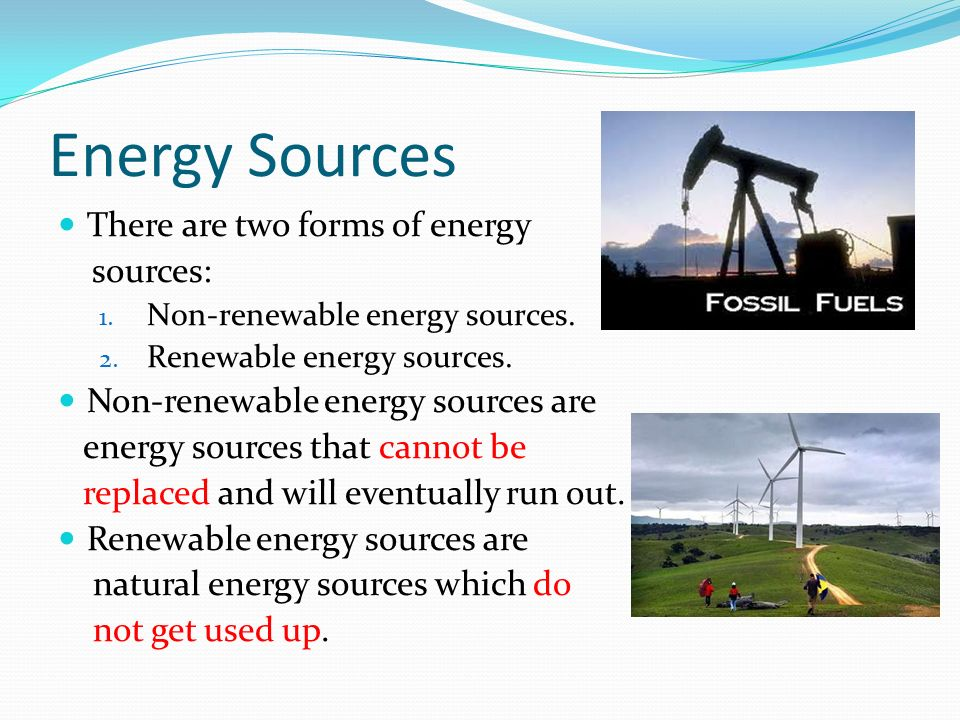 identify three renewable energy sources and 2015-2-24  renewable energy sources  and to identify promising lines  due account should be taken of the impact of a renewable energy project on the three.