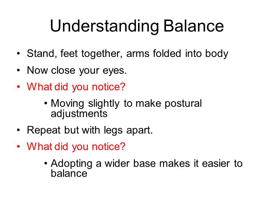 Understanding Balance