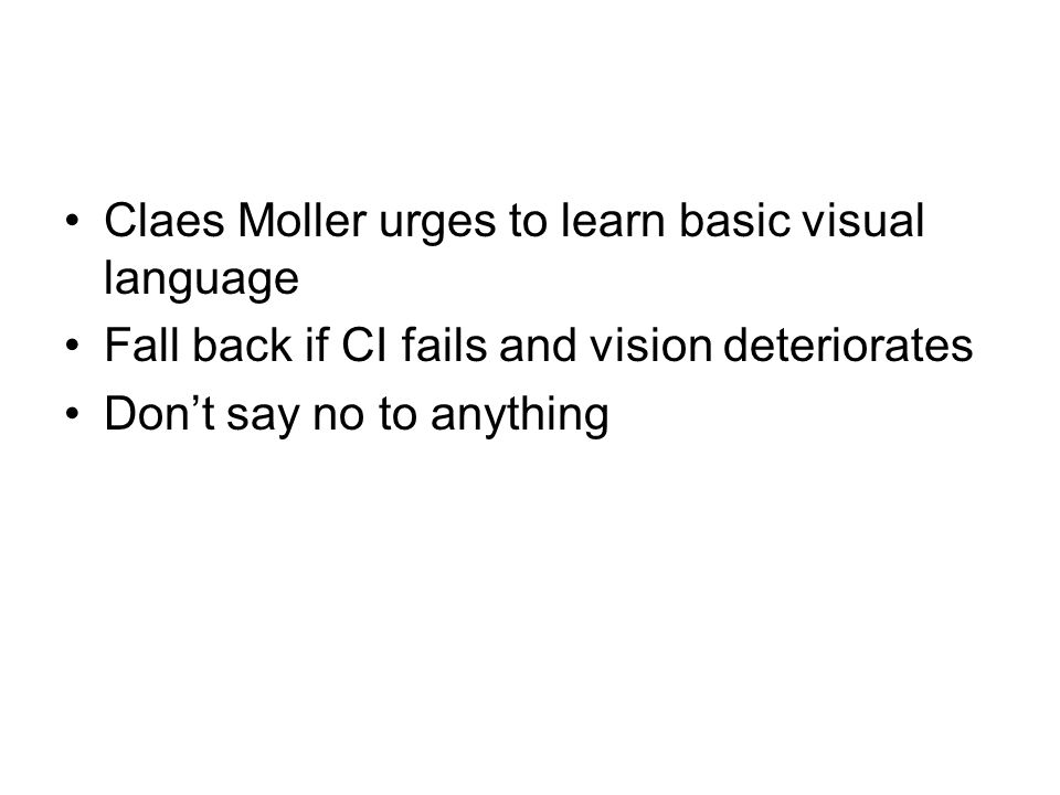 Claes Moller urges to learn basic visual language