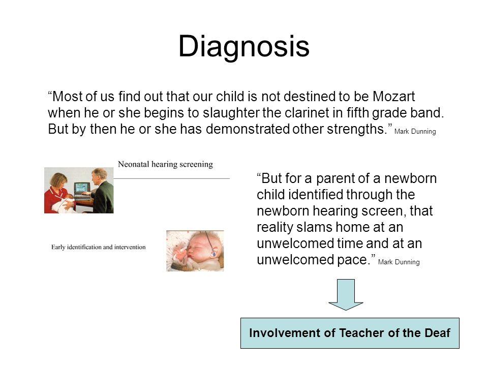 Involvement of Teacher of the Deaf