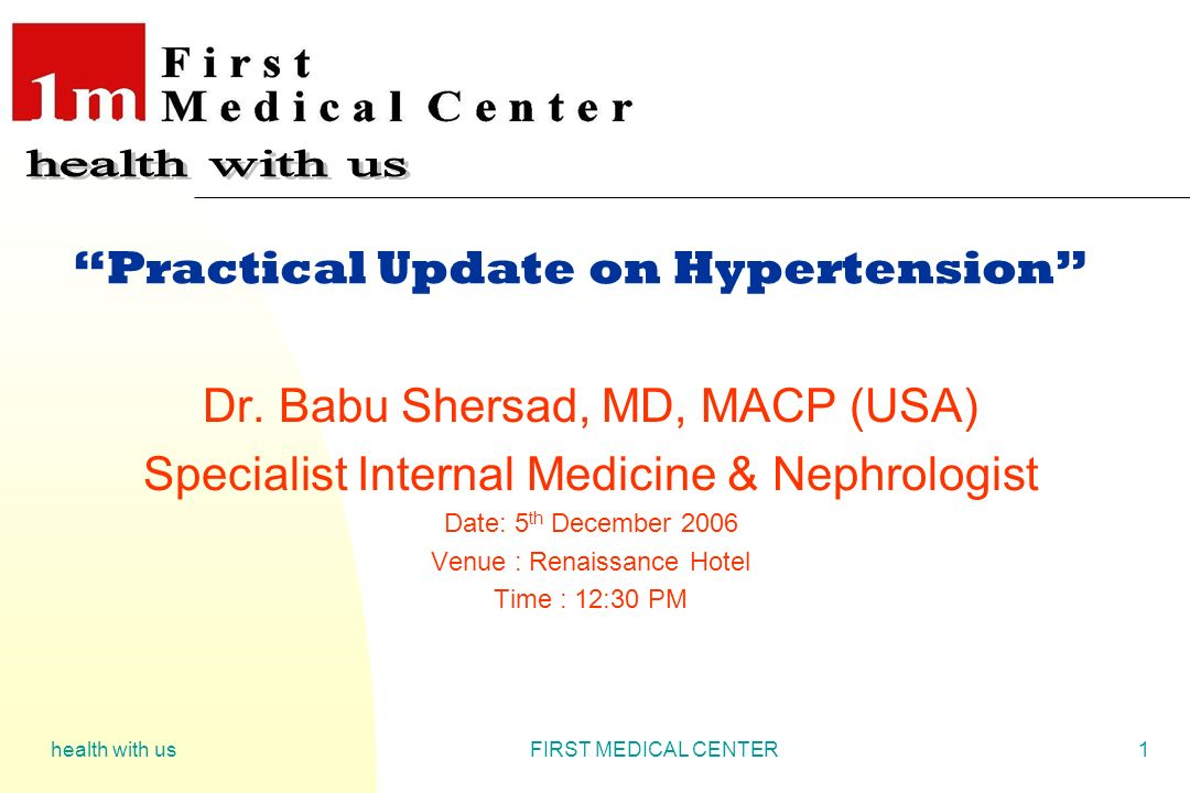 Practical Update on Hypertension