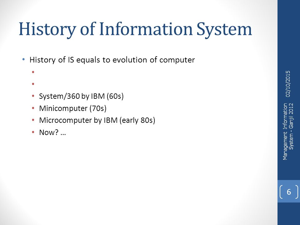 Personal information management: History and details