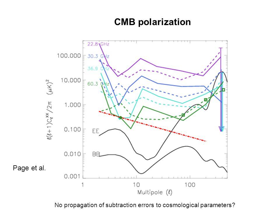 CMB polarization Page et al.