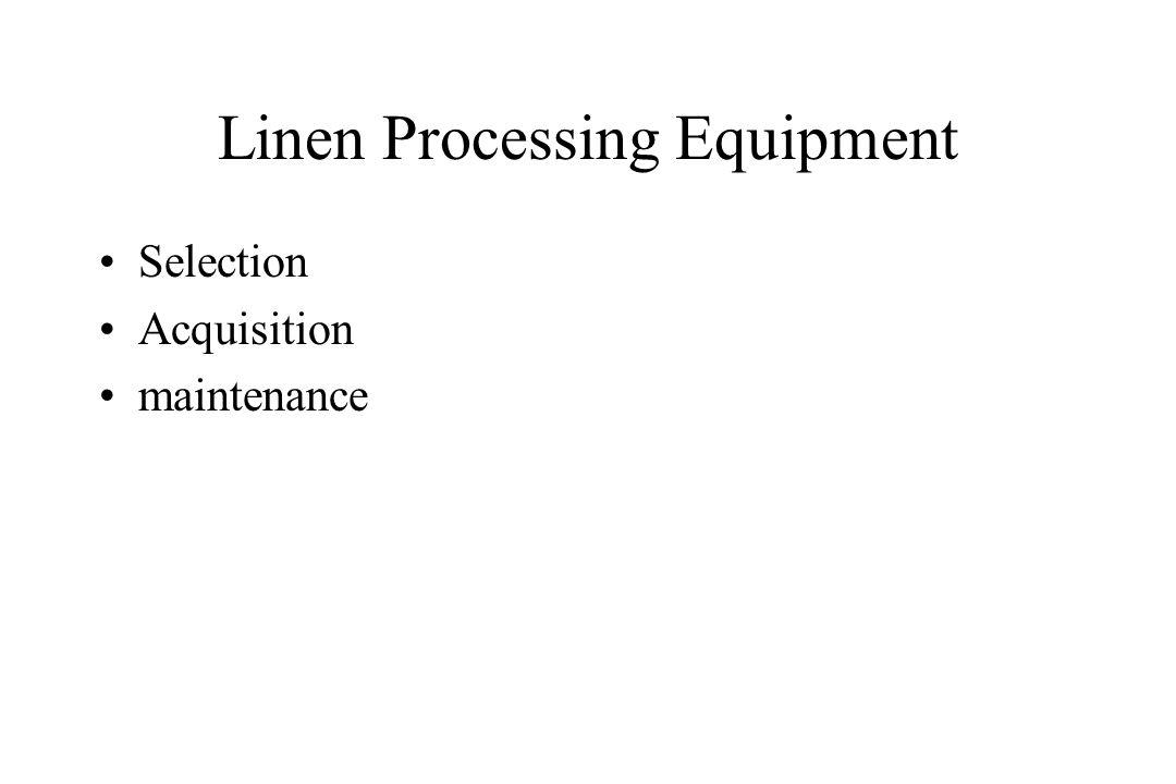 Linen Processing Equipment
