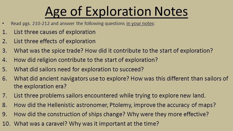 "The World Made New Why The Age Of Exploration Happened: BELLWORK Look At The Map On Page 211: ""European Knowledge"