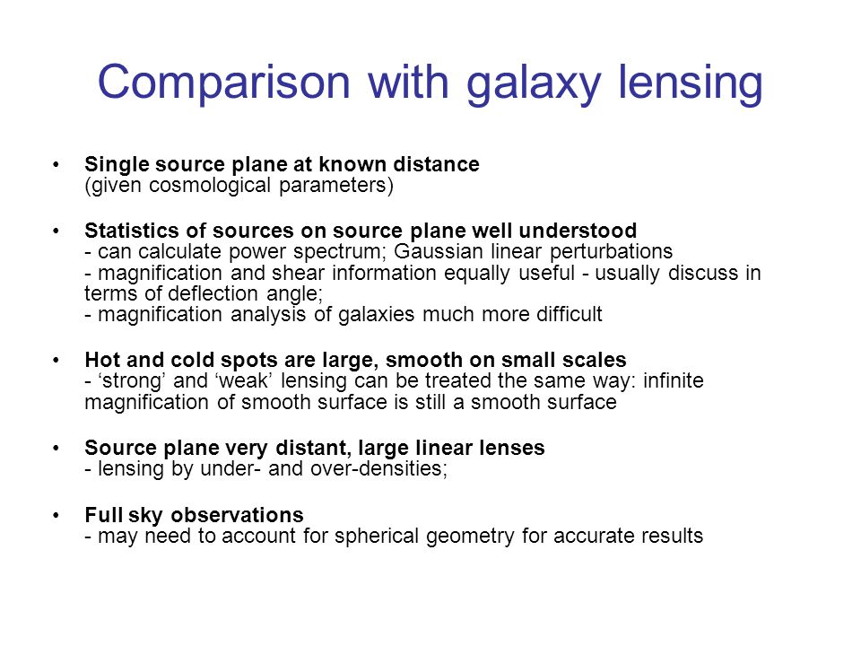 Comparison with galaxy lensing