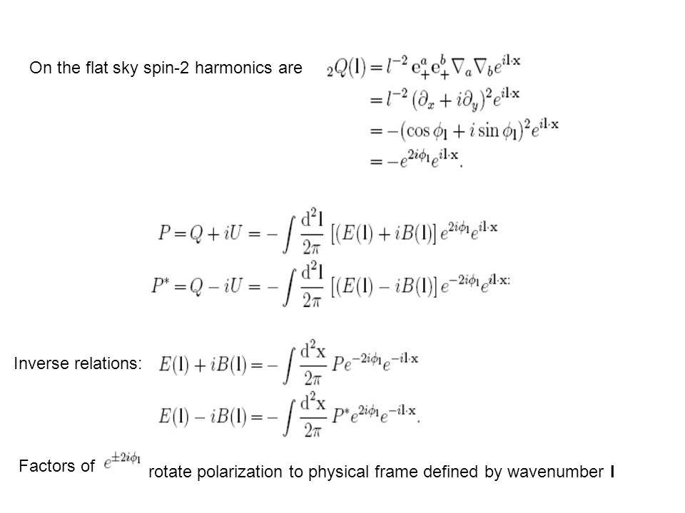 On the flat sky spin-2 harmonics are