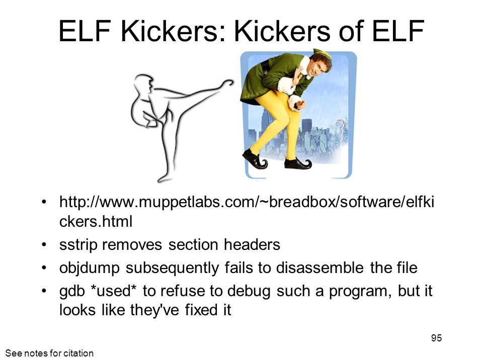 ELF Kickers: Kickers of ELF