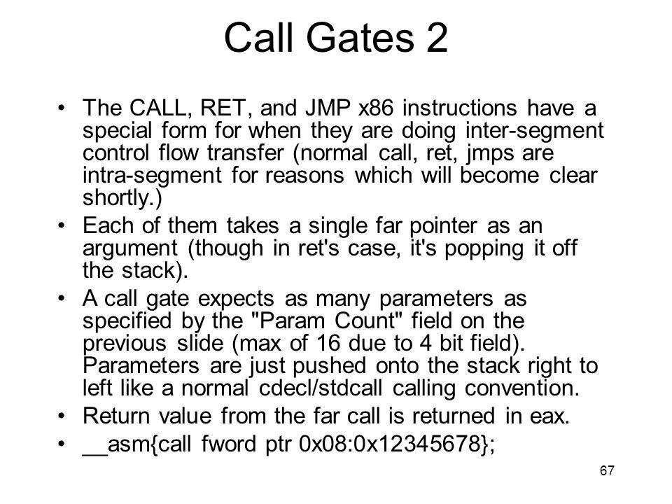 Call Gates 2