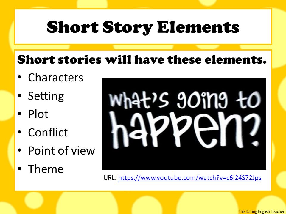 Short Stories to Teach Point of View: Lesson Plans