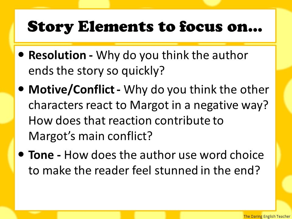 the use of conflict in the short Types of conflict worksheet 1 – students read ten short story descriptions then they determine the protagonist, antagonist, and type of conflict then they determine the protagonist, antagonist, and type of conflict.