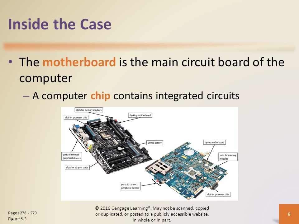 the motherboard is the main circuit Motherboard by john anthony the motherboard is the main circuit board in a pc it contains all the circuits and components that run the pc major components found on the motherboard are.