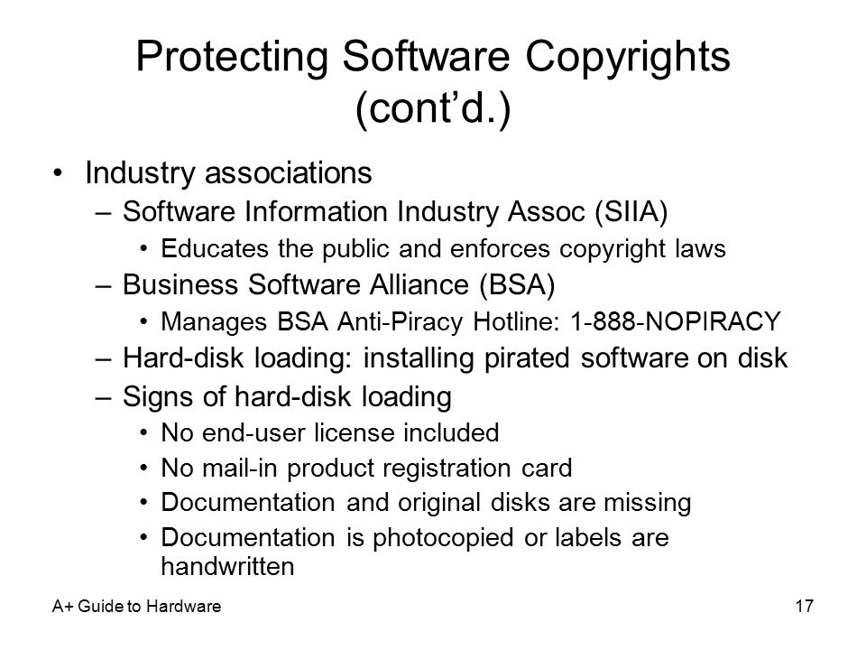 an analysis of the software industry and licensing to prevent illegal copying Software licensing, so it becomes more difficult to prevent those who would  we  propose a solution to the problem of illegal redistribution of software licenses  through  the paper is structured as follows: a summary of software piracy  issues  a working definition of software piracy refers to the copying or.