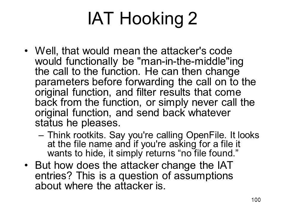 IAT Hooking 2