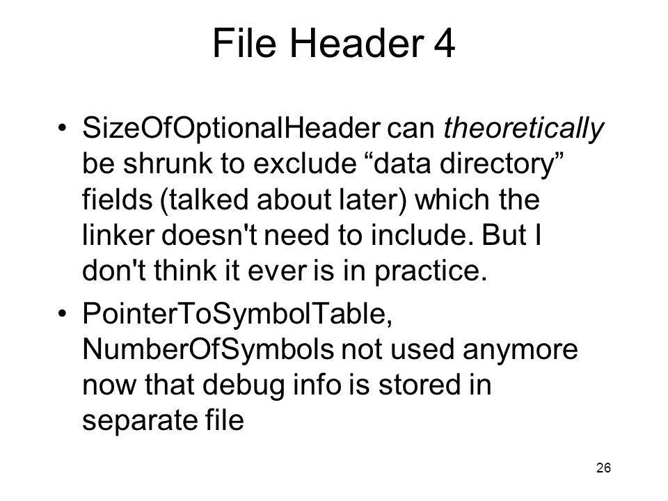File Header 4