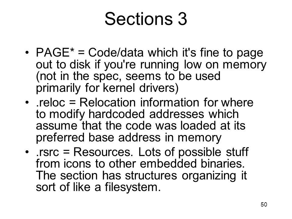 Sections 3