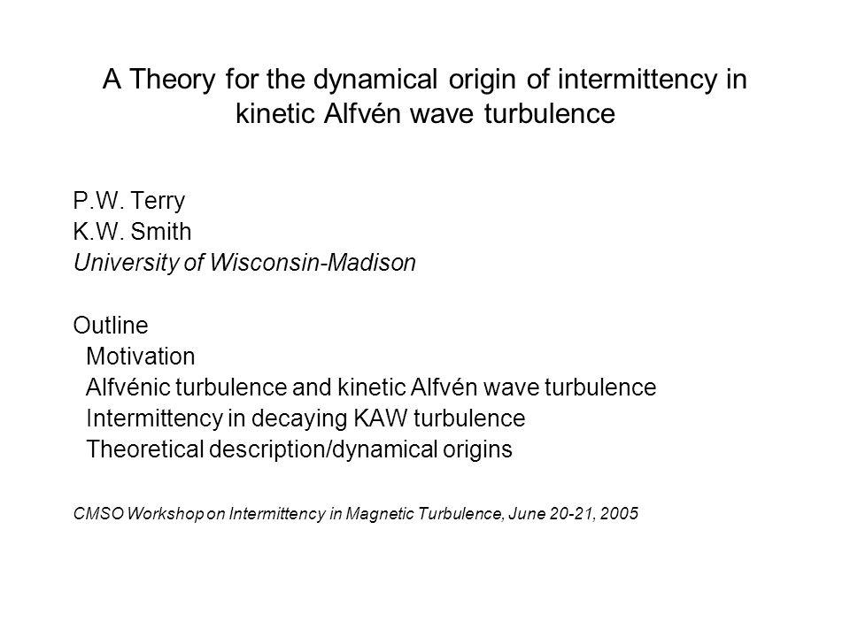 A Theory for the dynamical origin of intermittency in kinetic Alfvén wave turbulence