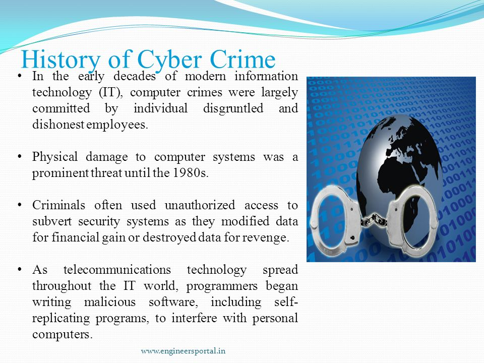 the information revolution and computer crimes Internet crime definition  internet scams and cyberstalking are the primary types of internet crime because internet crimes usually engage  us computer fraud.