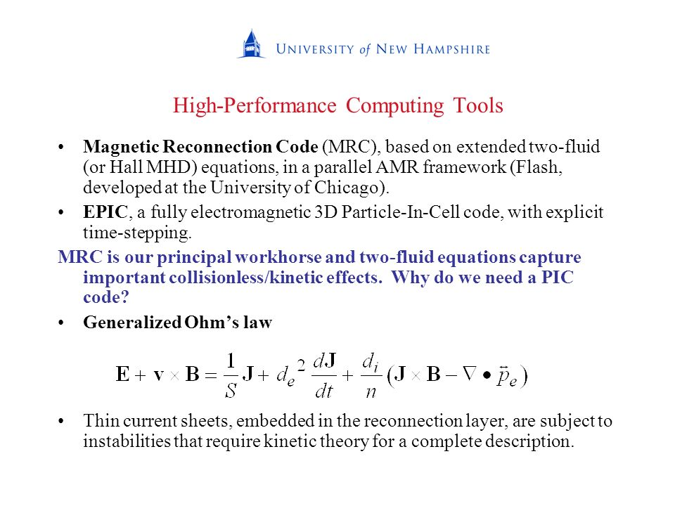 High-Performance Computing Tools