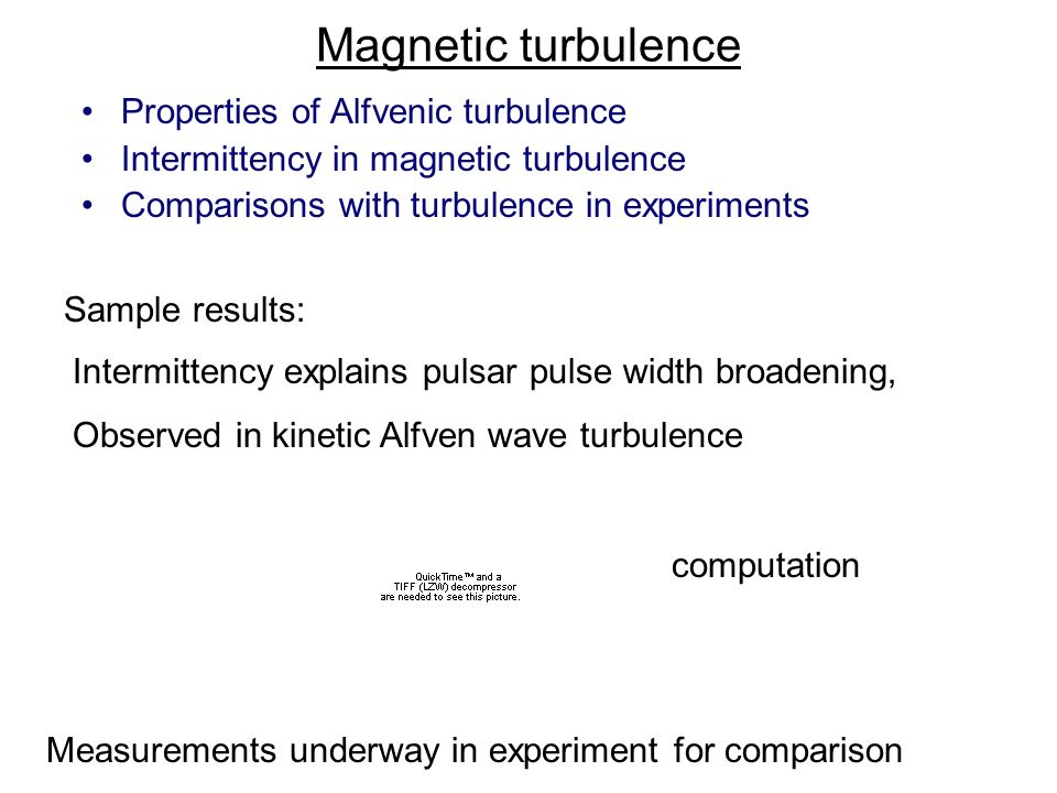 Magnetic turbulence Properties of Alfvenic turbulence