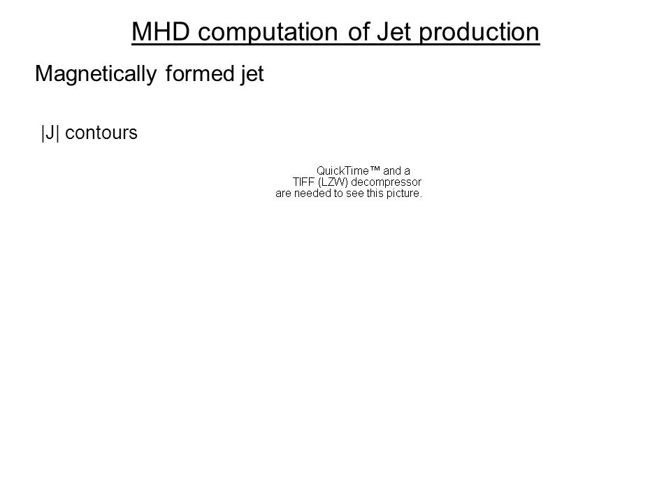 MHD computation of Jet production