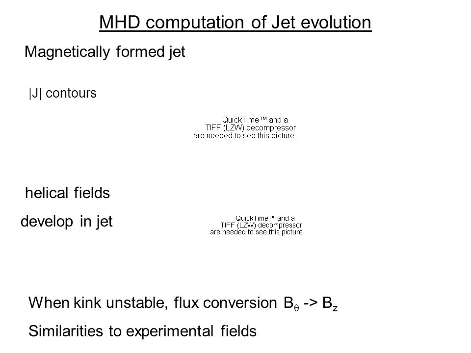 MHD computation of Jet evolution